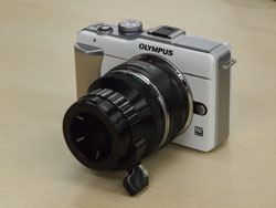 Digital Camera System OM Adapter