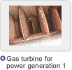 Gas turbine for  power generation 1
