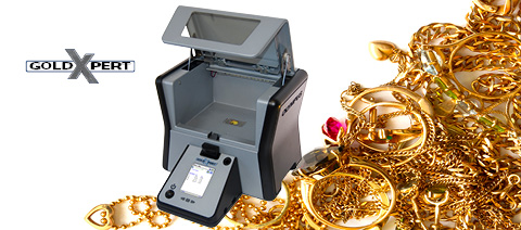 GoldXpert Precious Metals X-ray Fluorescence (XRF) Analyzer